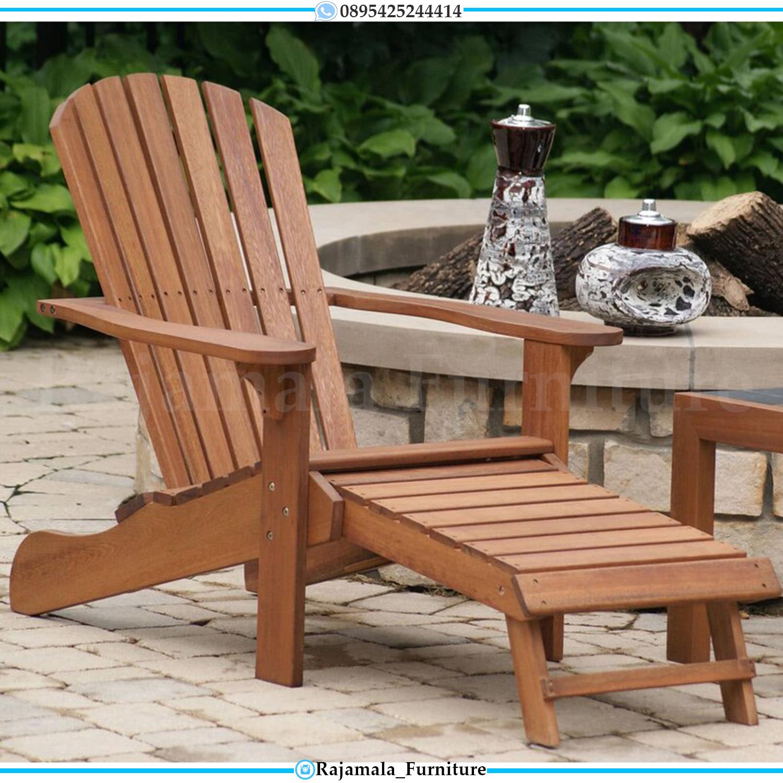 Kursi Santai Jati Outdoor Great Solid Wood Perhutani Jepara RM-0018
