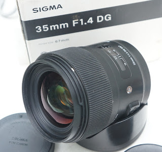 Sigma ART 35mm f1.4 for Canon Bekas