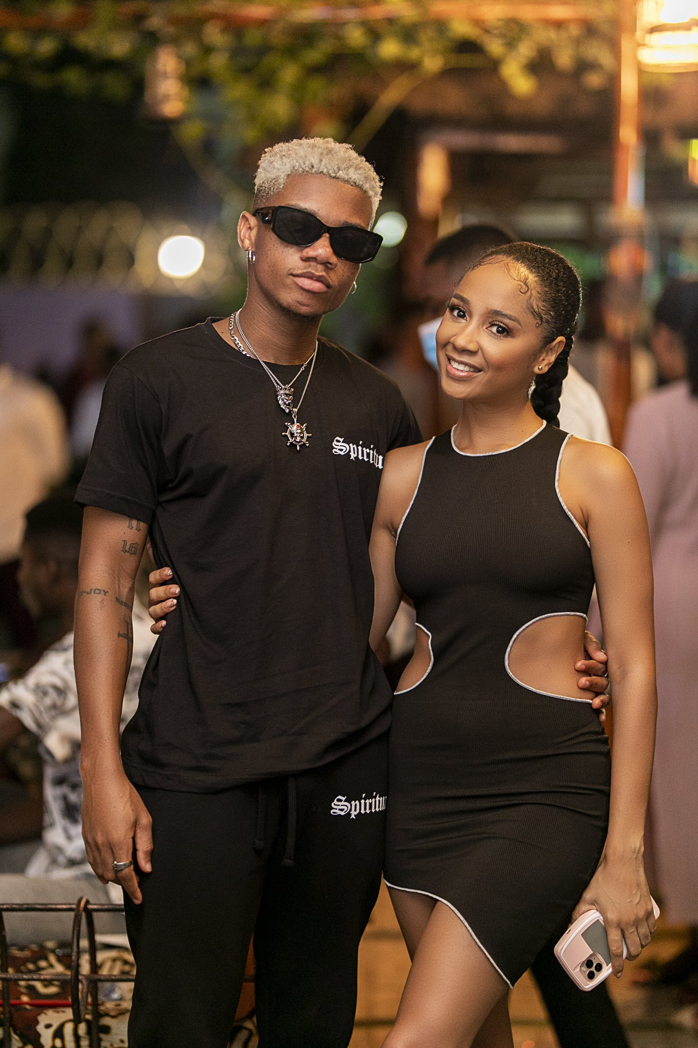 Sister Deborah and Kidi got the internet buzzing with these pictures (Pictures)