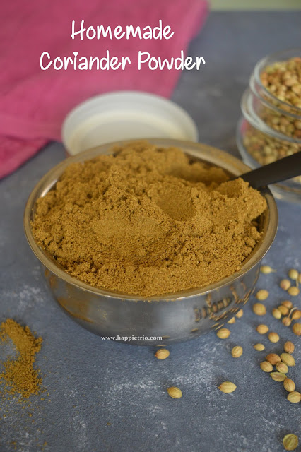 Homemade Coriander Powder | Dhania Powder