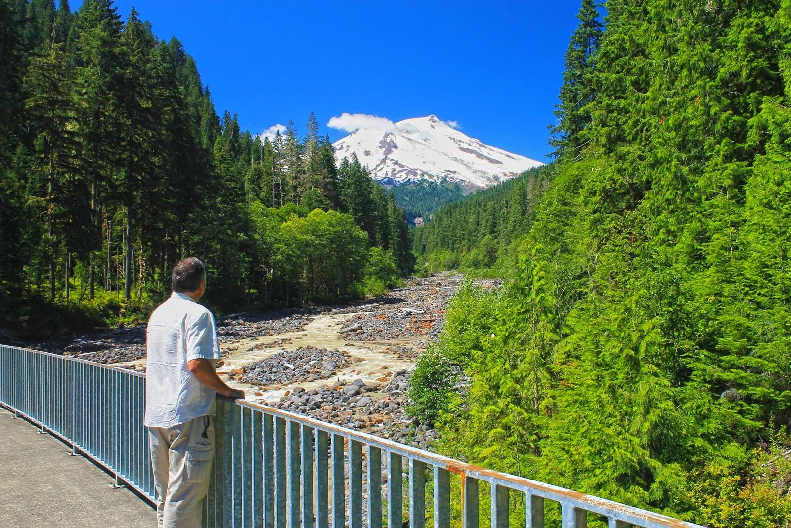 north Cascades National Park Oso landslide Mount Baker volcano glacier lake Washington pass copyright rocdoctravel.com