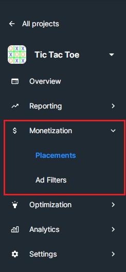 monetization unity ads