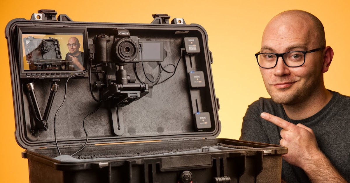 A DIY Video Studio Setup IN ONE CASE!