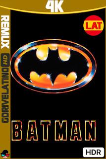 Batman (1989) BDRemux 4K HDR Latino-Ingles MKV