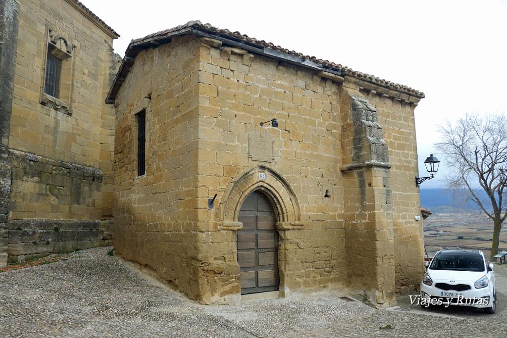 Ermita de San Juan de la Cerca o de Arriba, S Vicente de la Sonsierra