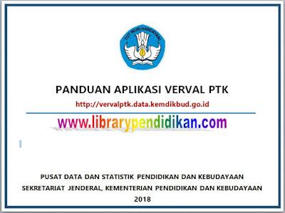 Panduan Aplikasi Verval PTK Tahun 2018