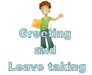 Ungkapan salam dan Perpisahan Dalam Bahasa Inggris
