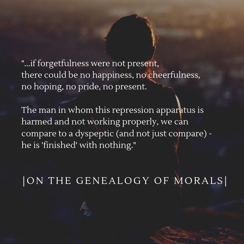 Nietzsche On The Genealogy Of Morals Quote