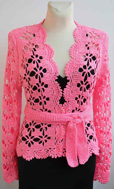 como-tejer-chaqueta-calada-color-rosado