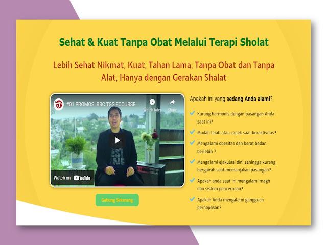 Training Terapi Gerakan Sholat untuk Kesehatan Alat Vital di Sukabumi