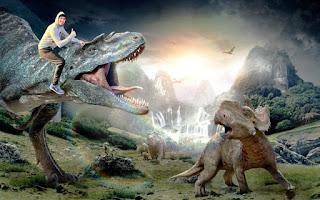 Hola Soy Germán vs Bicicleta humor dinosaurio