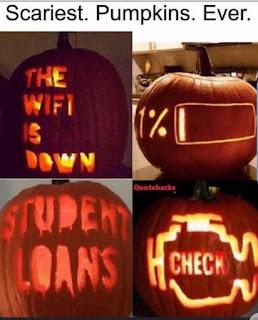 Pumpkins on Halloween Meme by @adultingandscreaming on Instagram