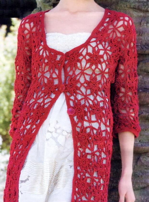 #crochetcardigan Crochet Cardigan Pattern