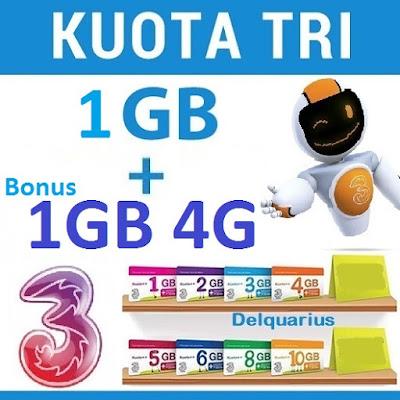 Three Kuota ++ 3G 4G