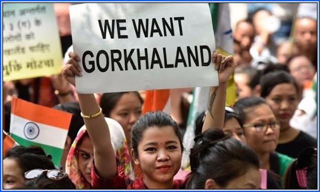 We want Gorkhaland