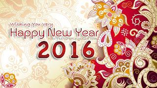 Kartu Ucapan Happy new year 2016 selamat tahun 2016  41