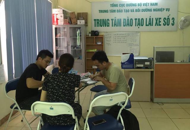 Trung tâm đào tạo lái xe ô tô bằng B1,B2 số 3 tại Hà Nội