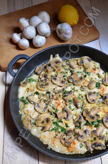 hiperica di lady boheme blog di cucina, ricette gustose, facili e veloci. Sogliola con funghi champignon