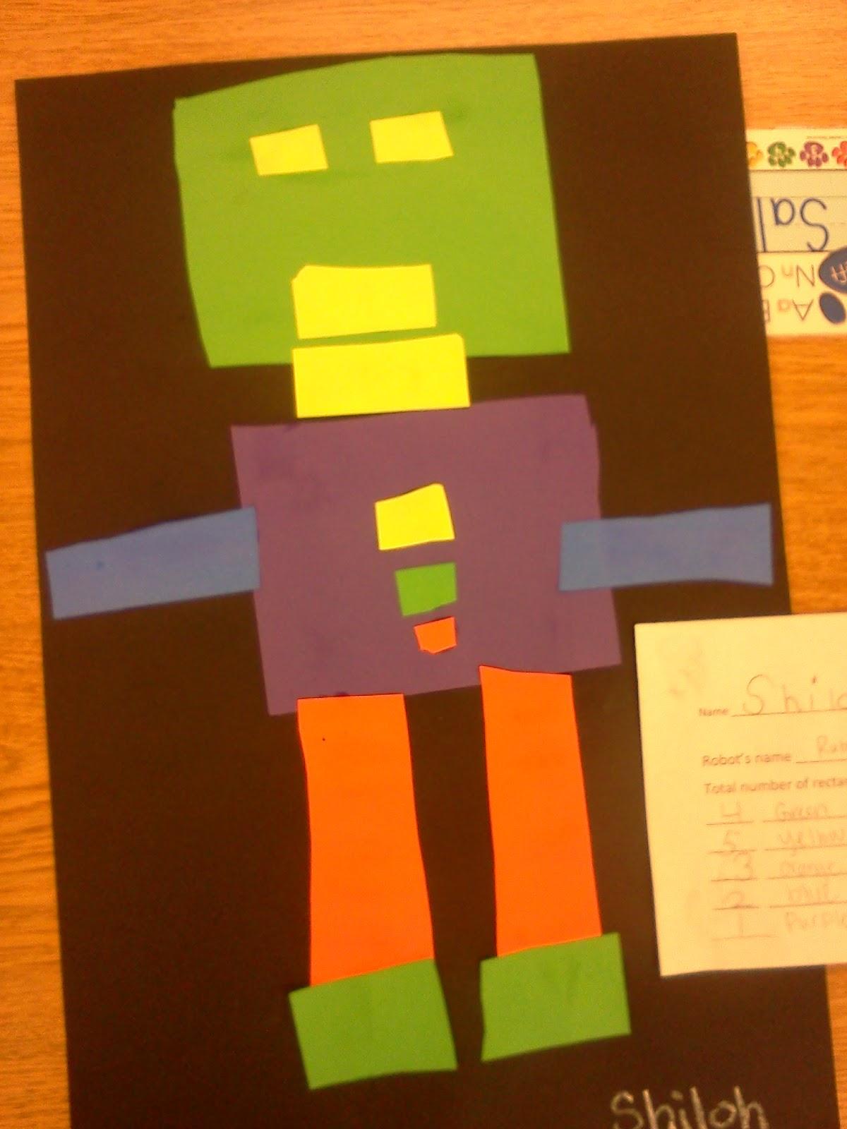 Kindergarten Adventures Rectangle Robots