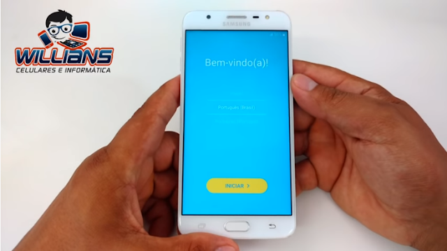 Aprenda como Desbloquear a Conta Google dos aparelhos Samsung Galaxy J7 Prime SM-G610, G610F, G610M.