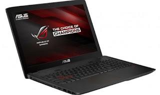 Asus ROG GL552VW DH71 High Performance Gaming Laptop Driver Windows 10