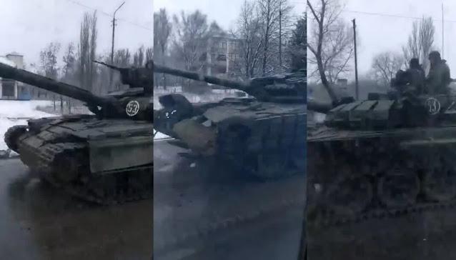 ở miền đông Ukraine