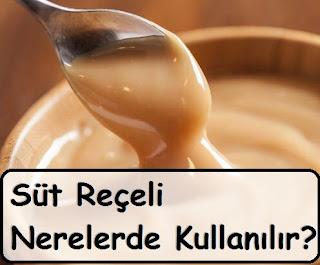 Süt Reçeli Nerelerde Kullanılır