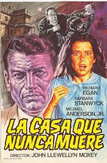 La Casa que Nunca Muere (1970) Terror con Barbara Stanwyck