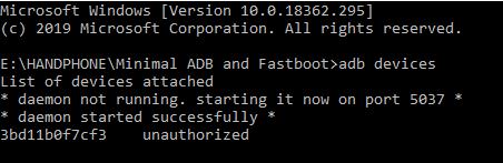 tanda hp xiaomi terhubung dengan adb menghapus aplikasi tanpa root