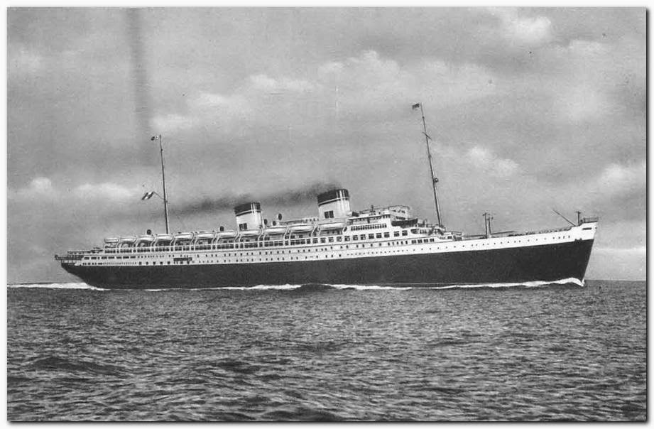 Ocean Superliners Ss Conte Di Savoia Was An Italian Liner