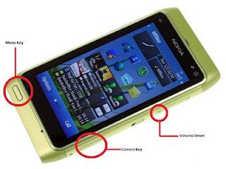 3 Finger Format Nokia N8