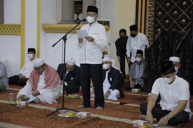 Bupati Asahan Menghadiri Peringatan Tahun Baru Islam 1443 H Sekaligus Doa dan Dzikir Kebangsaan