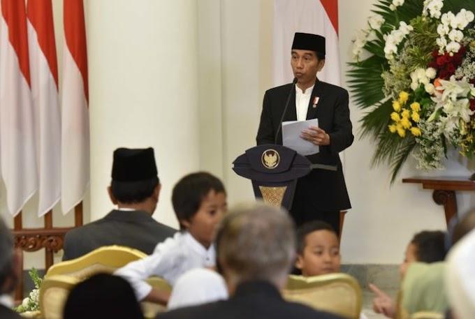 Jokowi: Misi Kenabian Diwujudkan dengan Kesalehan Individu dan Sosial