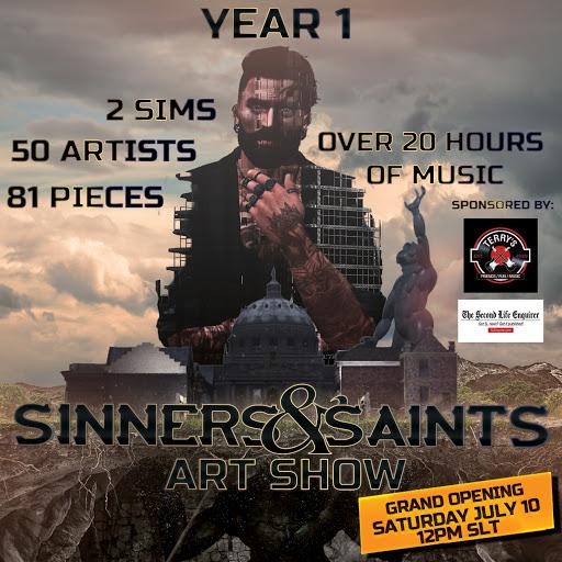 Sinners & Saints Art Show July 19th-July 25th