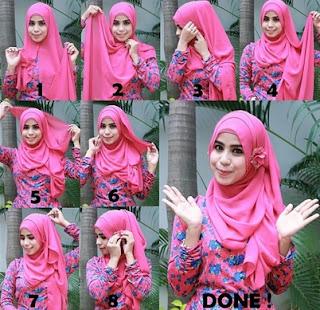 cara memakai hijab menghadiri pernikahan