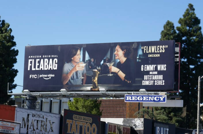 Fleabag season 2 FYC billboard