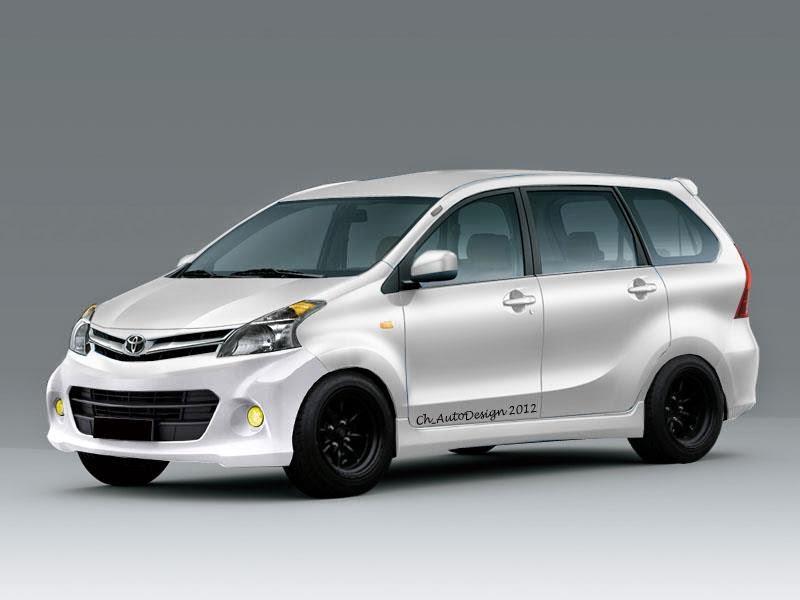 Model Mobil Modifikasi Avanza Veloz Eksterior
