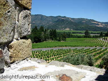 Travel Review - Napa Valley - Castello di Amorosa / www.delightfulrepast.com