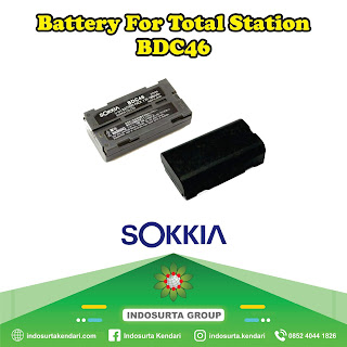 Jual Battery Sokkia BDC 46 di Kendari