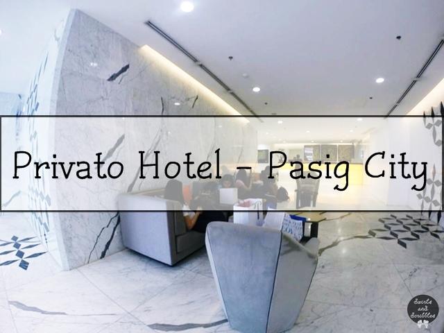 Privato Hotel - Pasig City, Manila - Swirls and Scribbles