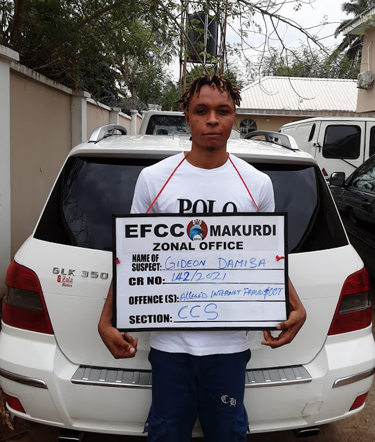Update: Yahoo girl who was arrested by EFCC in Benue state sentenced to 3 years Imprisonment (Photos)