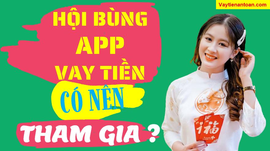 Hội bùng tiền app vay online