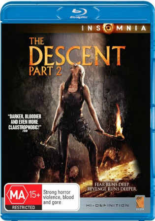 The Descent Part 2 2009 BRRip 600MB Hindi Dual Audio ESub 720p Watch Online Full Movie Download bolly4u