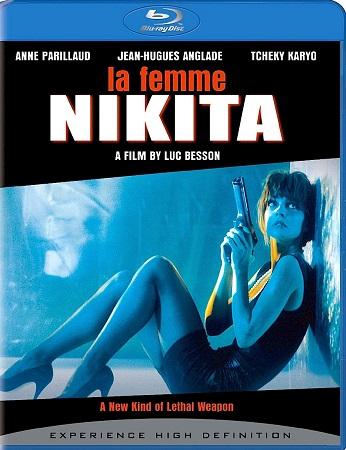 Poster Of La Femme Nikita 1990 Dual Audio 720p BRRip [Hindi - English] Free Download Watch Online