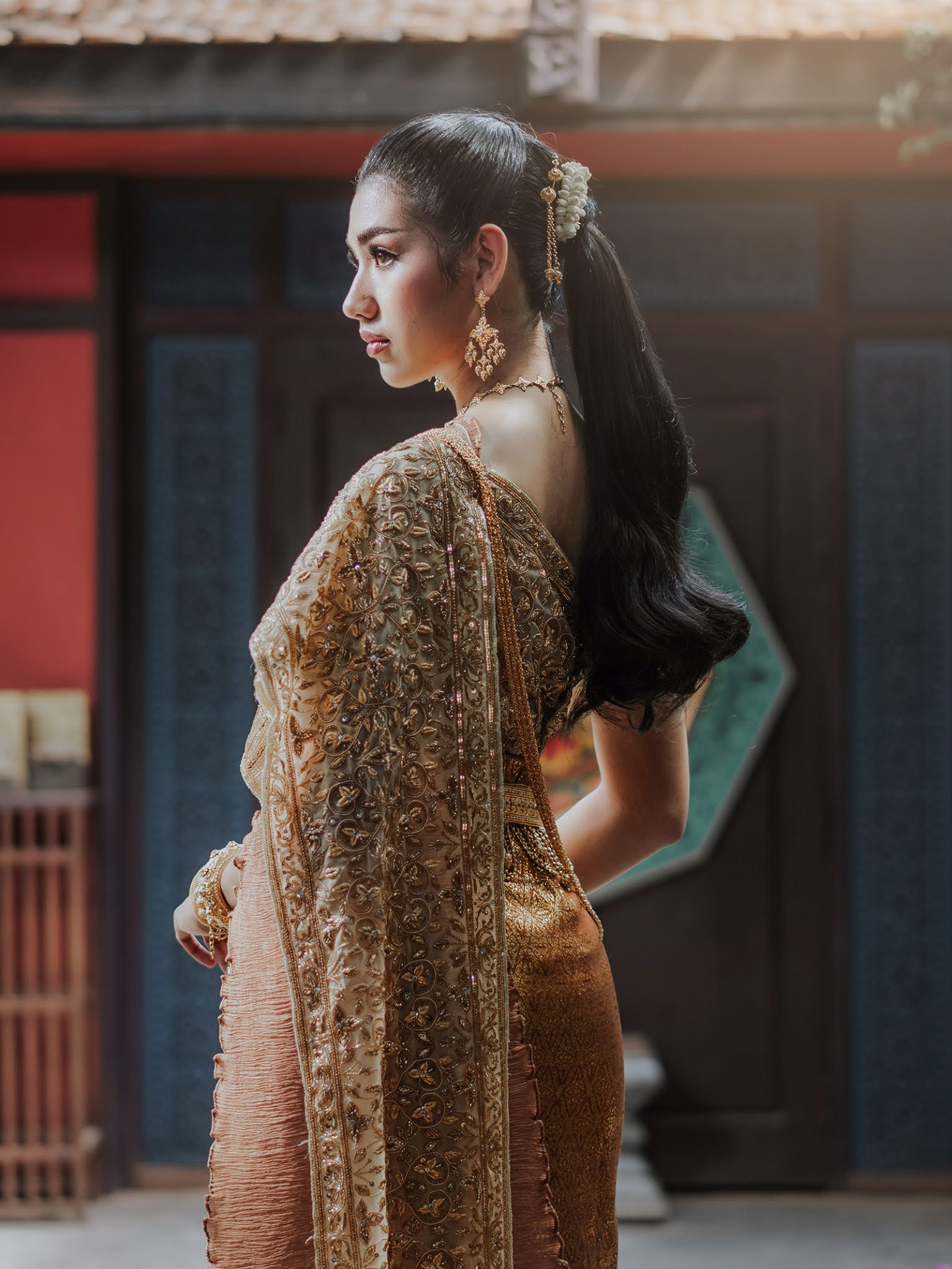 Khmer Bride costume