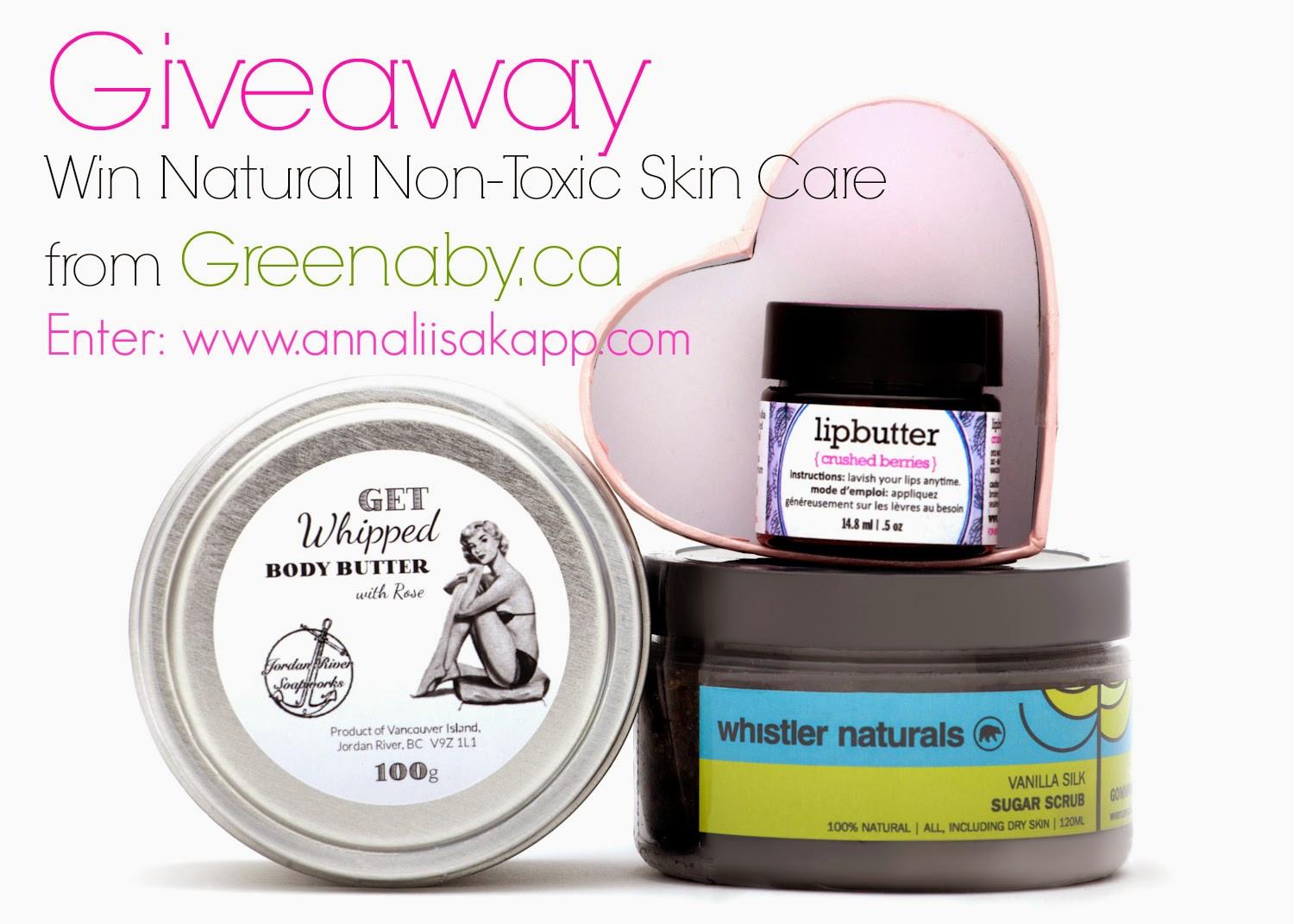 Greenaby natural skin care giveaway contest