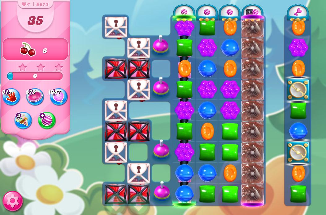 Candy Crush Saga level 8875