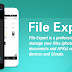 File Expert : تطبيقات إدارة الملفات في أندرويد