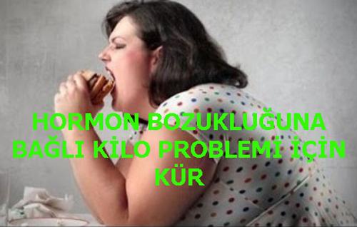 HORMON BOZUKLUĞUNA BAĞLI KİLO PROBLEMİ İÇİN KÜR