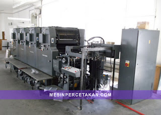 mesin percetakan Heidelberg MOVP 4 Color